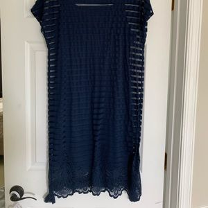 Navy blue Lily Pulitzer dress-size L